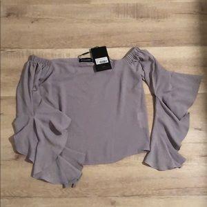 PLT frill blouse